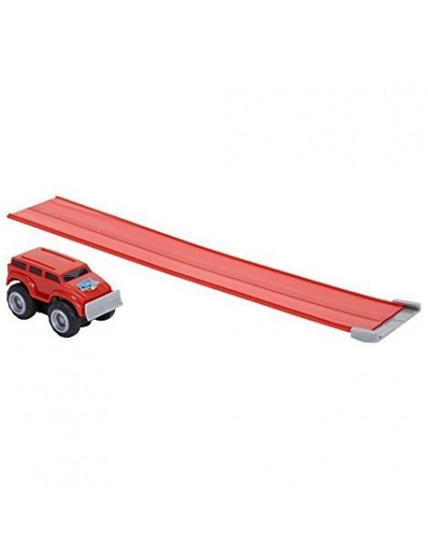 Max Tow Truck  Mini Haulers veiscolo macchina rossa   trascina fino 25 volte il suo peso include la pista