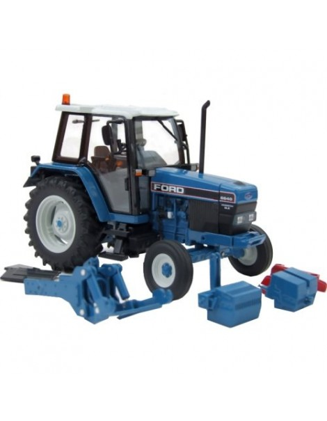 Ford Powerstar 6640 SLE 2WD [ROS 30131·3], Tractor, Limited Edition, 1:32 Die Cast