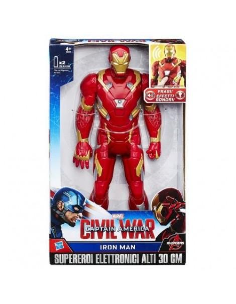 Marvel Avengers Iron Man Elettronico 30 cm di Hasbro B6177
