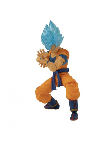 Dragon Ball - Action Figure Goku Super Sayan Blue (Bandai 36271), Rocco Giocattoli
