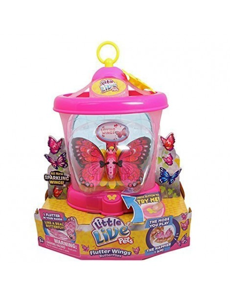 Little Live Pets Series 2 My Butterfly House Loving Wings - mariposa -