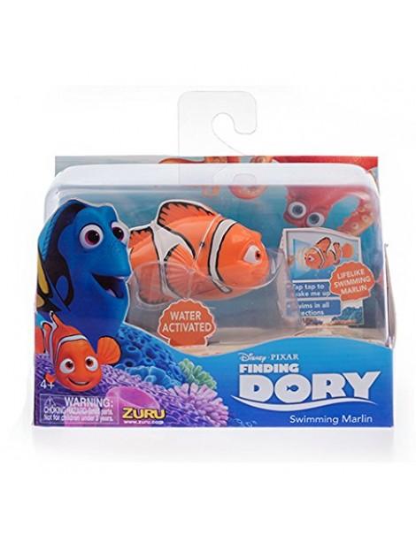 Disney Pixar - Alla Ricerca di Dory - Swimming Marlin - Personaggio che si Attiva nell'Acqua