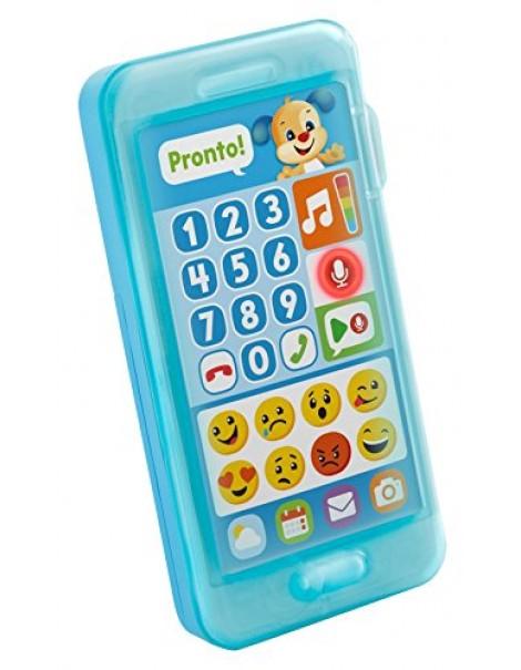 Smartphone Lascia Un Messaggio,Giocattolo Elettronico Fisher-Price 18-36 Mesi, FPR15