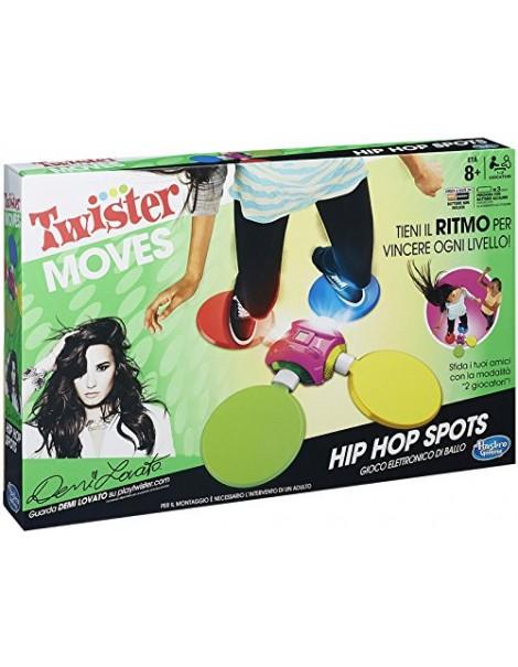 Hasbro - Twister Hip Hop Spots Gioco Elettronico