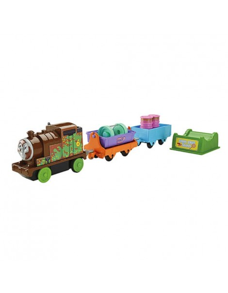 Thomas and Friends Motorized Railway - Choclate Percy Playset di Fisher Price