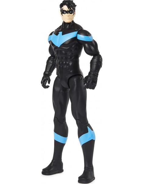 BATMAN Personaggio Nightwing / Sparviero da 30 cm Articolato, Spin Master 6055697