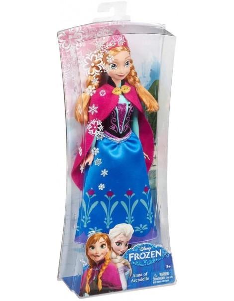 Mattel Mattel Y9958 Disney Princess Frozen Anna Principessa Scintillante