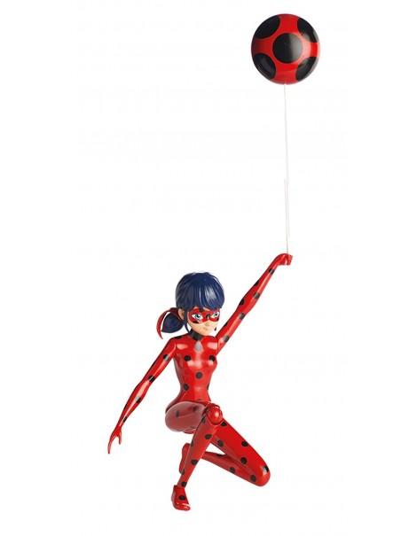 Miraculous Personaggio Deluxe con Funzione, 19 cm, Ladybug di Giochi Preziosi