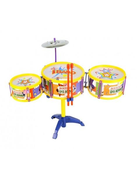 Bontempi DS 3341.2 - Drum Set 3 Tamburi e Piatto