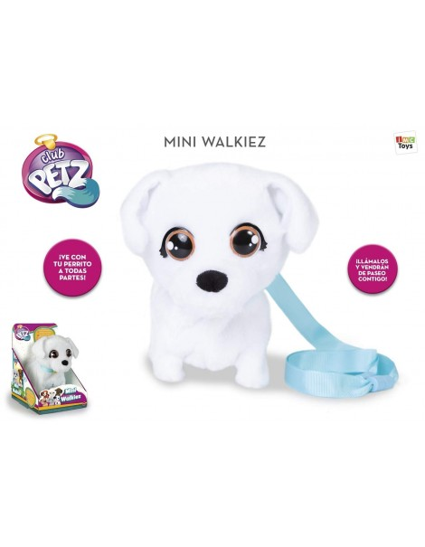 Mini Walkiez Cane Bichon Peluche che cammina di IMC Toys 99814