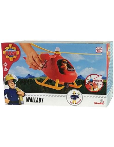Sam il Pompiere con Veicolo Wallaby, Simba 109251077038