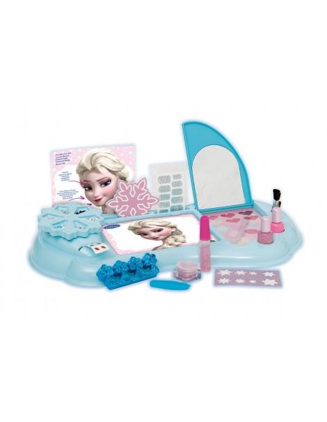 giochi preziosi gpz18535 frozen crystal vanity set unghie trucchi