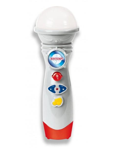 Bontempi KM 2710.2 - Microfono Karaoke con Registrazione Vocale
