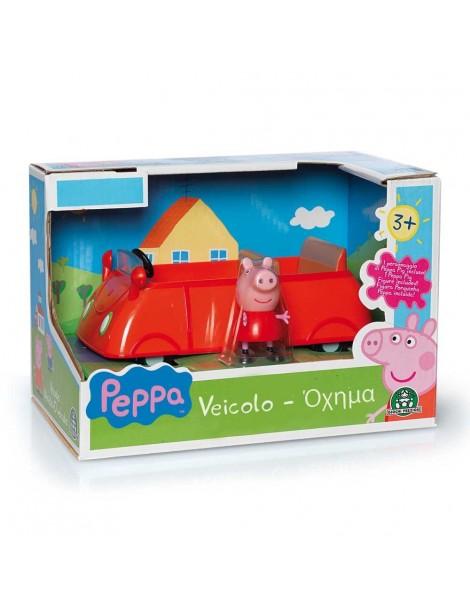 Giochi Preziosi CCP04433/1 Peppa Pig Macchina Pronti e Vai