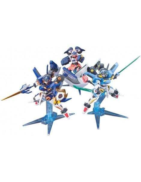 LBX Bandai 1/1 Little Battlers W (double) LBX LBX zero Icarus Icarus Force LBX Minerva breaks (LBX Paradise capture set)