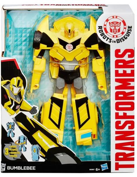Hasbro - B0897ES0 Transformers Rid Hyper Change Personaggio Bumblebee B0067