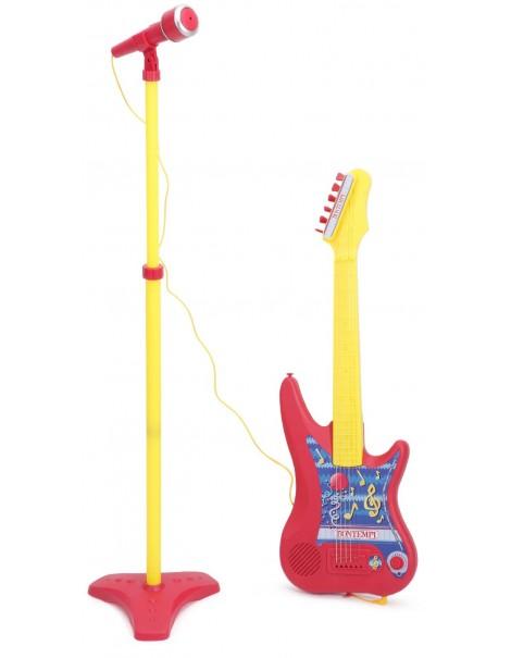Bontempi GM 7540.2 - Chitarra Elettrica con Amplificatore e Microfono