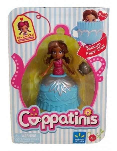 Cuppatinis Mini Doll  Cuppatinis Exclusive - Cha Cha Chai - Teacup Flips to Doll  di Giochi Preziosi