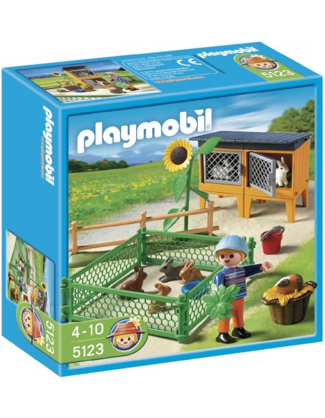 Playmobil 5123 - Recinto dei conigli