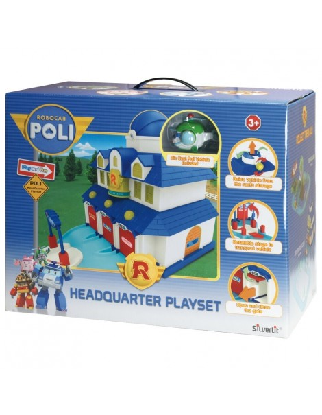 ROBOCAR POLI Robocar Poli Quartier Generale Playset