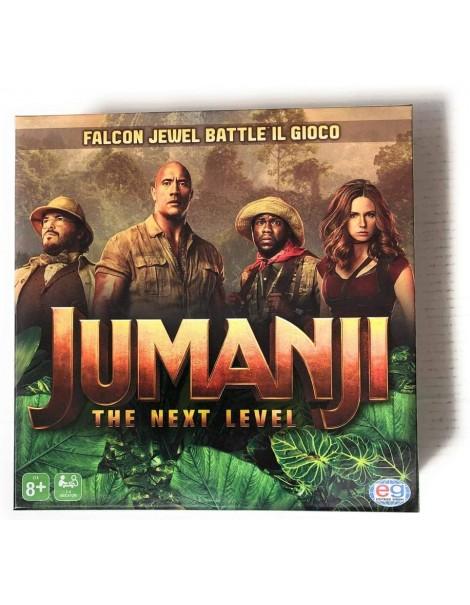 Editrice Giochi Jumanji 3 The Next Level, Gioco da Tavolo Falcon Jewel Battle Game per Bambini, Famiglie e Adulti