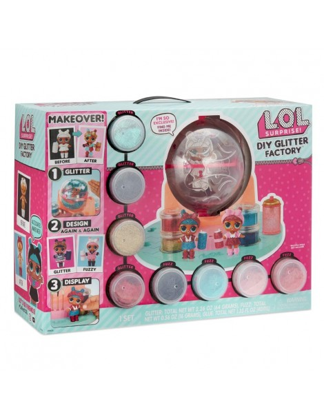 LOL Glitter Station Playset che Permette di Cambiare Stile alla tua LOL di Giochi Preziosi