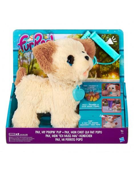 Fur Real Friends Pax Il Cane Che Fa La Cacca e passeggia con te di Hasbro B3527EU4
