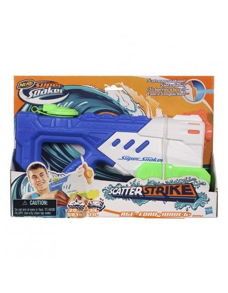 NERF - Scatterstrike pistola spara acqua 10 M di Hasbro