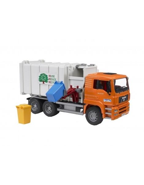 Bruder 02761 - MAN - Camion operatore ecologico - Camion del patume
