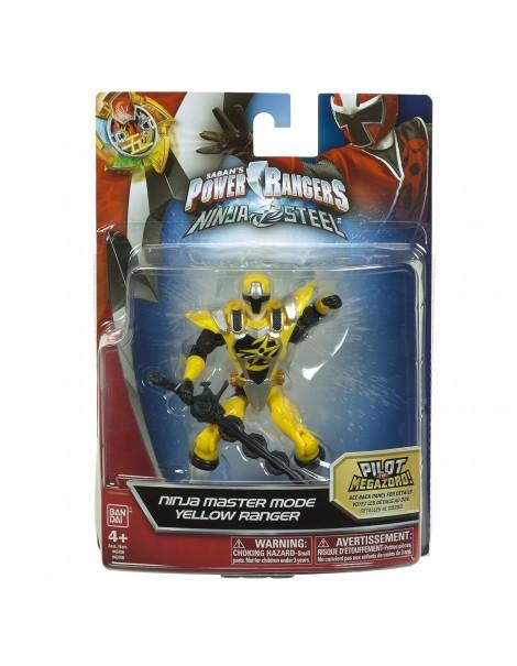 Power Rangers Ninja Steel 12.5cm Yellow Master Mode di GIG