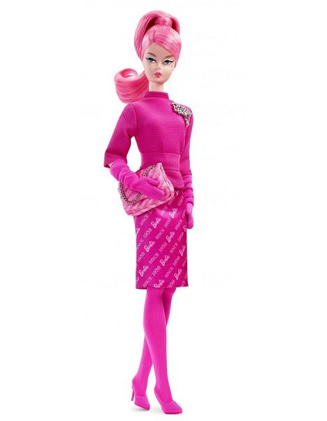 Barbie Proudly Pink Bambola da Collezionare, 60 Anniversario, FXD50 Mattel