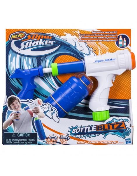 Nerf - Supersoaker Bottle Blitz pistola spara acqua