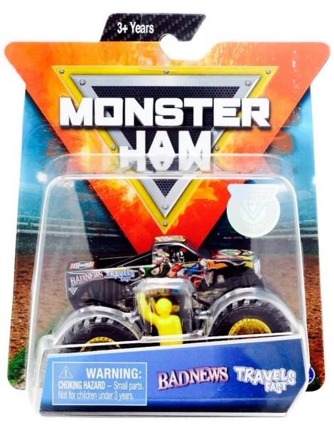 Monster Jam  - Truck Badnews Travels in Scala 1:64