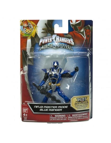 Power Rangers  Ninja Steel 12.5cm Blue Ranger Master Mode di Gig