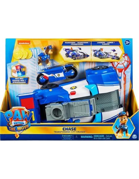 PAW Patrol, Veicolo trasformabile City Cruiser di Chase, Spin Master 6060759