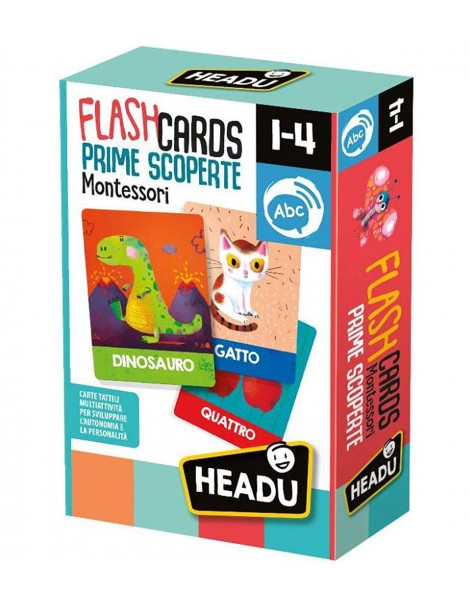 FLASHCARDS MONTESSORI PRIME SCOPERTE NEW HEADU IT23097