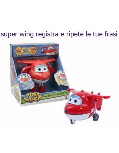 Giochi Preziosi - Super Wings Jett Trasformabile Parlante