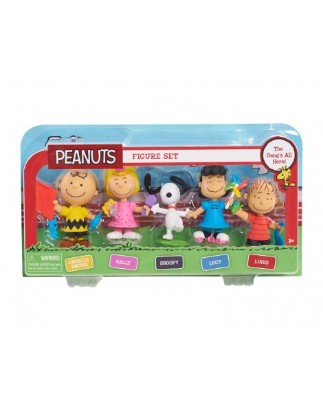Peanuts Set Figura Snoopy di IMC Toys 335035SN