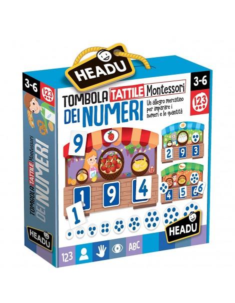 Tombola Tattile Montessori dei Numeri di Headu IT20249