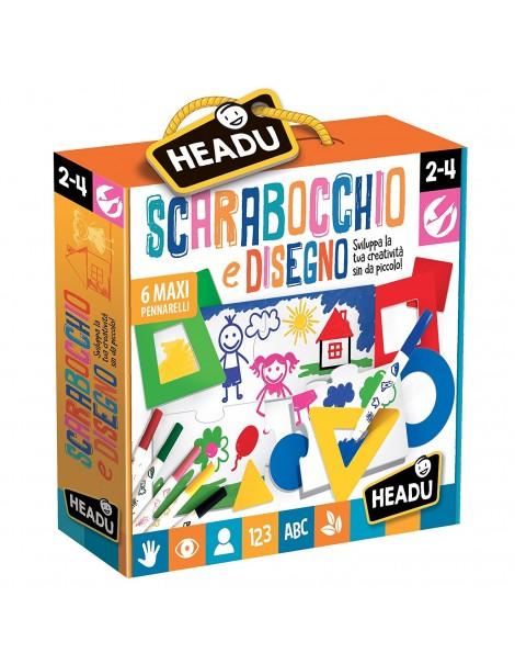 Scarabocchio e Disegno Montessori  Headu IT21628