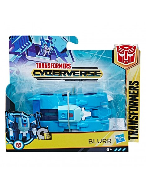 Transformers Cyberverse  1-Step Changer Blurr di Hasbro E3525-E3522