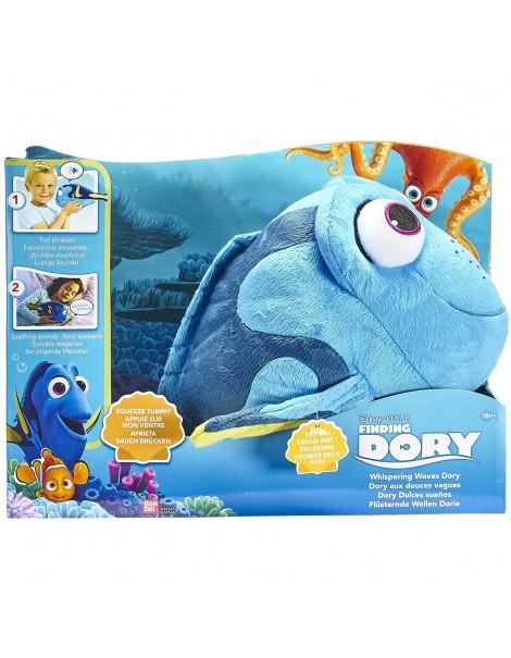 DORY - DORY INTERATTIVO DOLCENANNA PELUCHE CON SUONI Finding DORY Dory Whispering onde peluche BANDAI 36456