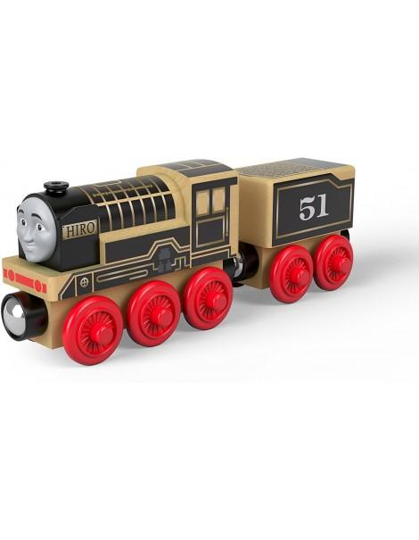 Trenino Thomas Locomotiva in legno Hiro di Fisher-Price FHM49