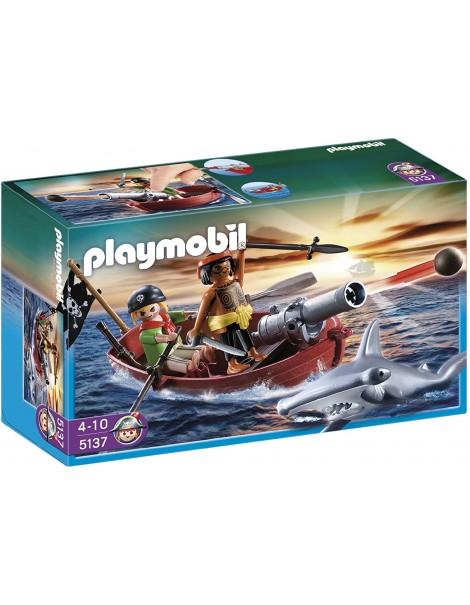 Playmobil 5137 - Barca dei pirati con pesce martello