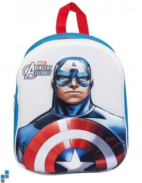 Nuovo zainetto Marvel Capitan America  3D