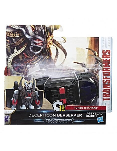 Transformers - Figurina Turbo Changer Decepticon Berserker di Hasbro C2823-C0884
