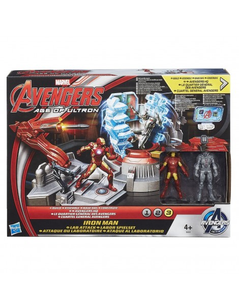 Avengers - Marvel Age of Ultron, Il laboratorio di Iron Man