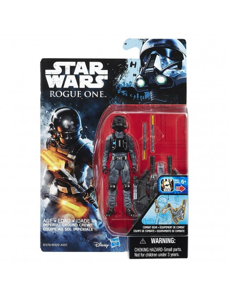 Star Wars Rogue One:Imperial Ground Crew 9.5cm figura di azione B7279-B7072