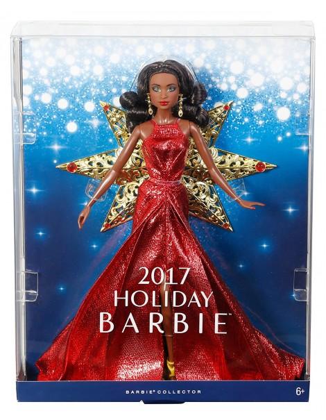 Barbie Magia delle Feste 2017 Barbie Afro modello DYX40