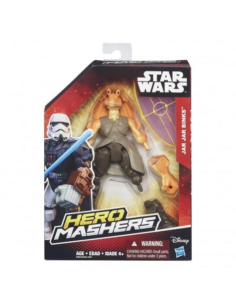 Hasbro B3663ES0 - eroe di Star Wars Mashers carattere di base Jar Jar Binks